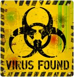 Virus informatico Immagini Stock