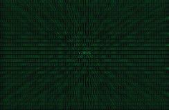 Virus-Kodierung Lizenzfreies Stockfoto