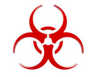Virus logo Royalty Free Stock Photo