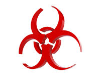 Virus logo Royalty Free Stock Photography