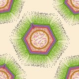 Virus Mimi Reticolo senza giunte ENV 10 Fotografie Stock Libere da Diritti