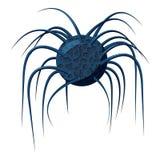 Virus- oder Bakterienikone, isometrische Art 3d Lizenzfreie Stockbilder