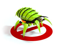 Virus ou insecte Photographie stock