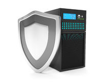 Virus protection servers Stock Photography