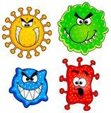 Virus selvaggi Fotografia Stock