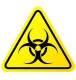 Virus sign  Royalty Free Stock Images