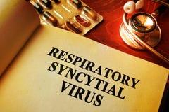 Virus sincitial respiratorio RSV Fotos de archivo libres de regalías