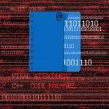 Virus- tillbehör royaltyfria bilder