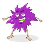 Virus und Bakterium lizenzfreie abbildung