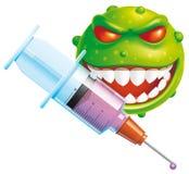 Virus vaccine Royalty Free Stock Photo