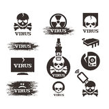 Virus. Vector format Stock Photo