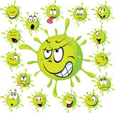 Virus - vector illustration Royalty Free Stock Photo