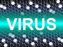 Virus Word Means Preventive Medicine And Doctors Royalty Free Stock Images