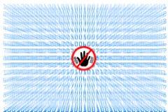Virus y Spyware Foto de archivo libre de regalías