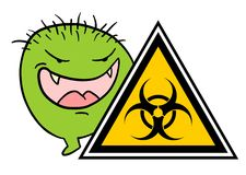 Virus zone Stock Images
