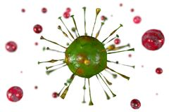 Viruses... Royalty Free Stock Images
