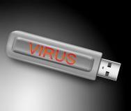 Viruskonzept. Stockfoto