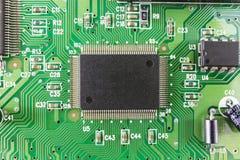 Viruta de circuito electrónico Foto de archivo