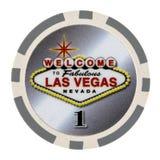 Viruta de póker del casino Imagenes de archivo