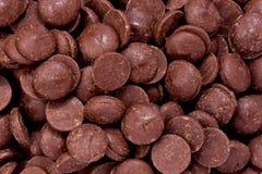 Virutas de chocolate Fotografía de archivo libre de regalías