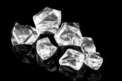 Virutas de cristal foto de archivo libre de regalías