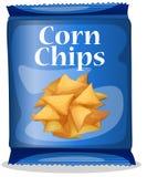 Virutas de maíz stock de ilustración