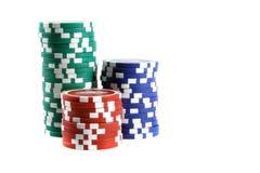 Virutas de póker Fotos de archivo