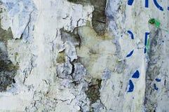 Virutas de papel resistidas viejas Imagen de archivo