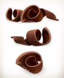 Virutas del chocolate, rizo de los chocolates libre illustration
