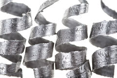 Virutas del metal Imagenes de archivo