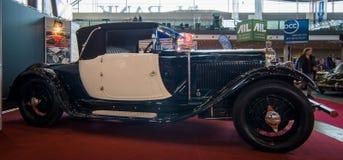 Virutas para rellenar retras Cabriolet, 1927 de Albert I del coche foto de archivo libre de regalías