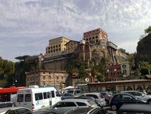 Virutas para rellenar Vittoria Sorrento del hotel fotos de archivo libres de regalías