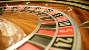 Virutas y ruleta de póker metrajes