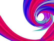 Virvel av färgabstrakt begreppbakgrund Royaltyfria Foton