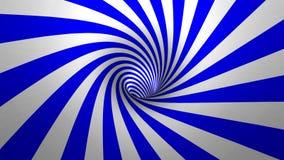 """Virvel för hypnotisk spiral †"""" vektor illustrationer"""