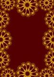 Virvelgräns Royaltyfria Bilder