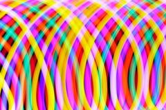 Virvlade runt färger Royaltyfri Foto