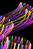 Virvlade runt färger Arkivbild