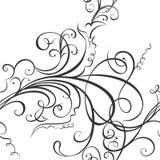 Virvlande runt blom- prydnad Arkivfoto