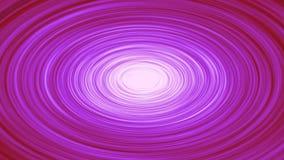 Virvlande runt hypnotisk cirkelanimering arkivfilmer