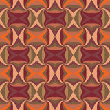 Virvlande runt kulöra trianglar Arkivbild