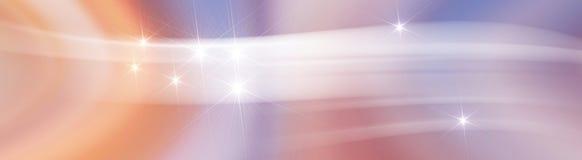 Virvlande runt luft för bakgrund med stjärnan Royaltyfria Bilder