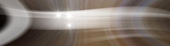 Virvlande runt luft för bakgrund med stjärnan Royaltyfri Bild