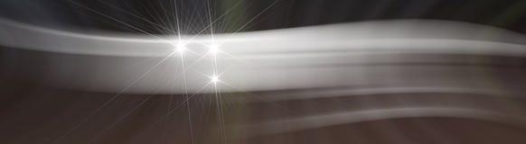 Virvlande runt luft för bakgrund med stjärnan Arkivfoton