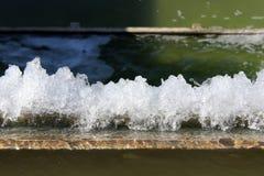 Virvlande runt vattenspringbrunn fotografering för bildbyråer