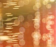 Virvlar och bubblor i öl Royaltyfri Bild
