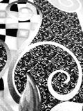 Virvlar på matta Royaltyfri Foto
