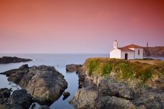 Virxe do Porto in Galicia. Royalty Free Stock Images