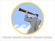 Visão ilustração royalty free