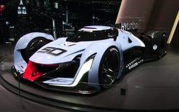 Visão 2025 de Hyundai N Gran Turismo nos carros de IAA Fotos de Stock Royalty Free